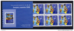 SLOVAKIA 2005  World Children´s Day Booklet With 10 Stamps, MNH / **.  Michel 515, MH 0-53 - Slovakia