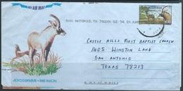 Nigeria   1992   N20  Antelopes Postal Aerogram