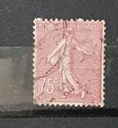 YT202 - 75c Semeuse - Oblitéré