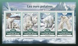 Togo. 2016 Polar Bears. (615a)