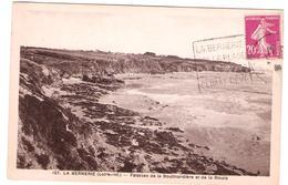 La Bernerie 44 - 1934 - Daguin Sur Semeuse - Plage - Postmark Collection (Covers)