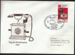 Germany Kiel 1977 / Telephone / Stamp's Day / Philatelic Exhibition - Telekom