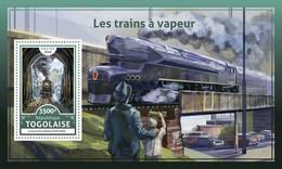 Togo. 2016 Steam Trains. (620b)