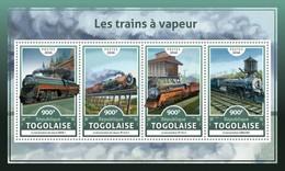 Togo. 2016 Steam Trains. (620a)