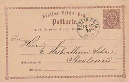 DR Ganzsache K1 Berlin P.E.15  13.10.74