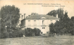 BOMMES SAUTERNES CHATEAU MAURAS - France