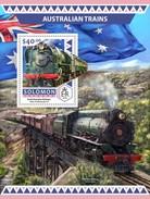 Solomon Islands. 2016 Australian Trains. (515b)
