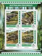 Solomon Islands. 2016 Australian Crocodiles. (518a)