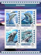 Solomon Islands. 2016 Dolphins. (523a)