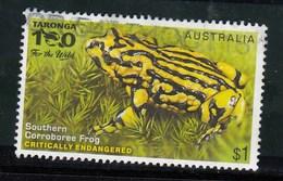 Australia 2016 Endangered Wildlife - Southern Corroboree Frog - Sheet Stamp Used
