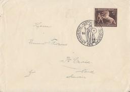 DR Brief EF Minr.699 SST München 16.7.39 Gel. In Schweiz - Briefe U. Dokumente