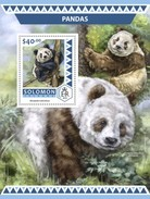 Solomon Islands. 2016 Pandas. (522b)