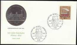 Germany Kiel 1969 / Railway / Trains / Locomotive / Altona - Kiel