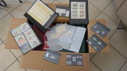 M Gros Carton (environ 30 Kg) De Timbres ** De France Oblitérés Du Monde + Blocs, Variétés, 13A** ...PORT 27 € OFFE - Briefmarken