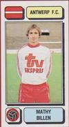 Panini Football Voetbal 83 1983 FC Royal Antwerp RAFC Club Sticker Autocollant Nr. 35 Mathy Billen - Sports