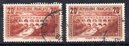 FRANCE - YT N° 262 + 262c - Cote: 105,00 €
