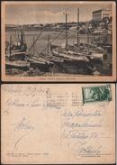 Cartolina Portici 1953 Il Granatello Con £ 10 Italia Al Lavoro - Portici