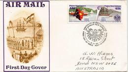 PAPOUASIE. German New Guinea 1884.German Colonial Empire:Deutsch-Neuguinea, Lettre Adressée Australie - Kolonie: Deutsch-Neuguinea