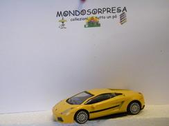 MONDOSORPRESA, (SC72) MODELLINO AUTO LAMBORGHINI GIALLA - Voitures, Camions, Bus