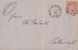NDP Brief EF Minr.16 K1 Berlin P.E.Nr.2  1.6.70 Gel. Nach Halberstadt - Norddeutscher Postbezirk