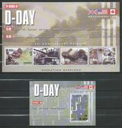 St.Kitts 2004 The 60th Anniversary Of D-Day Landings.Normandy.2 S/S.MNH. - St.Kitts-et-Nevis ( 1983-...)