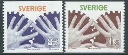 1976 SVEZIA PROTEZIONE DEL LAVORATORE MNH ** - P53-5 - Unused Stamps