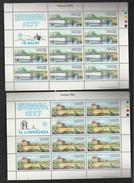 Malte Europa 77 N° 549 Et 550 ** En Feuillet De 10. Impeccables !