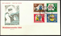 Germany Berlin 1966 / Fairy Tales / Wohlfahrtsmarken / Welfare Stamp