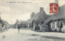 Beaufay-  Rue De La Gare. - Autres Communes
