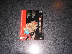 TINTIN Hergé Carte Postale De L' Exposition Au Pérou Avec Tintin Temple Du Soleil Musée Du Cinquentenaire 2003 Bruxelles - Ansichtskarten