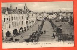 IAN-14 La Rochelle  Cours Richard, ANIME. Circulé En 1913 Par Courrier Militaire, à Bord Du Croiseur Lorraine Au Havre - La Rochelle
