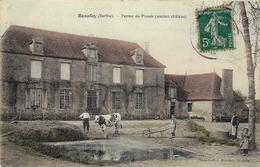 Beaufay- Ferme Du Plessis (ancien Château). - Autres Communes