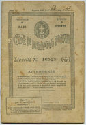 Bitonto (Bari) - Libretto Postale Del 1940 - Azioni & Titoli