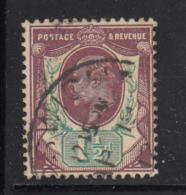 Great Britain Used #129 1 1/2p Edward VII