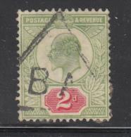 Great Britain Used #130 2p Edward VII Cancel: Telegraph - 1902-1951 (Rois)