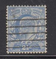 Great Britain Used #131 2 1/2p Edward VII