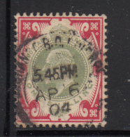 Great Britain Used #138 1sh Edward VII Dated: AP 6 04