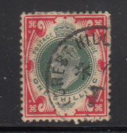 Great Britain Used #138a 1sh Edward VII