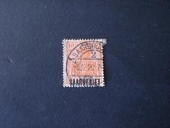 """SARRE 1920 German Empire Postage Stamps Overprinted """"SAARGEBIET"""""""