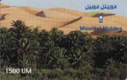 Mauritanie, 1500 Units, Recharge Card - Mauritanien