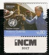 Portugal ** &  Antonio Guterres, Secretary General Of The United Nations 2017 (6893) - 1910 - ... Repubblica