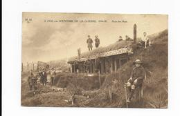 De Haan - Coq Sur Mer / Souvenir De La Guerre 14-18, Abris Des Huns (1921) - De Haan