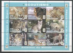 NIGER - MNH - Animals - Tiger - Scouting