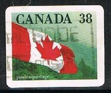 CANADA 1701187 - 1989 38c Canada Flag S/a Used Single