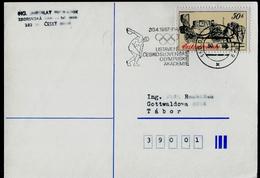 732-CZECHOSLOVAKIA Postal Stationery Establishing The Czechoslovak Olympic Academy  Commemorative Stamp Prague 1987