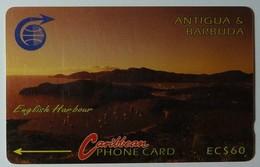 ANTIGUA & BARBUDA - GPT - $60 - 4CATD - English Harbour - 5000ex - ANT-4D - Sb - Used