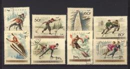 Hongrie  -  Avion  :   Yv  1181-88  (o)   Sport