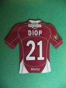 Magnet - Just Foot 2008 - Diop - N° 21 - Metz - Sports