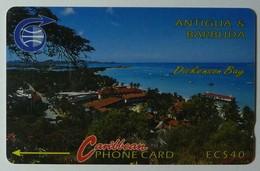 ANTIGUA & BARBUDA - GPT - $40 - 5CATA - Dickenson Bay - ANT-5A - Used - Antigua And Barbuda