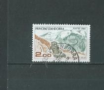Timbre Oblitére D'andorre 1985